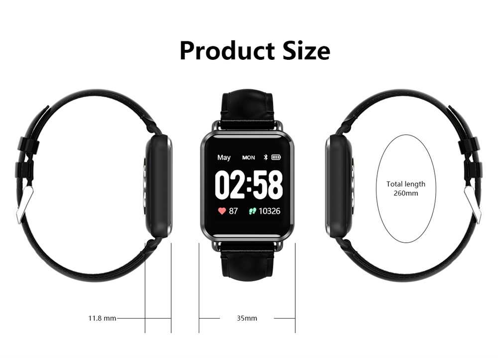 q13 color screen smartwatch