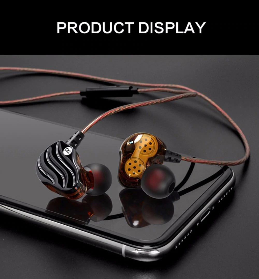 qkz kd4 dynamic in-ear earphones