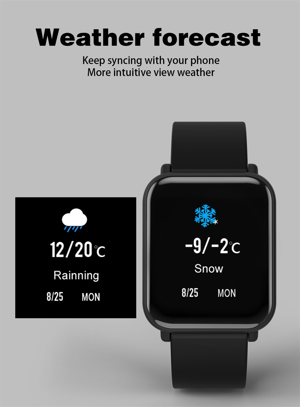 r6 smart sports smartwatch for sale
