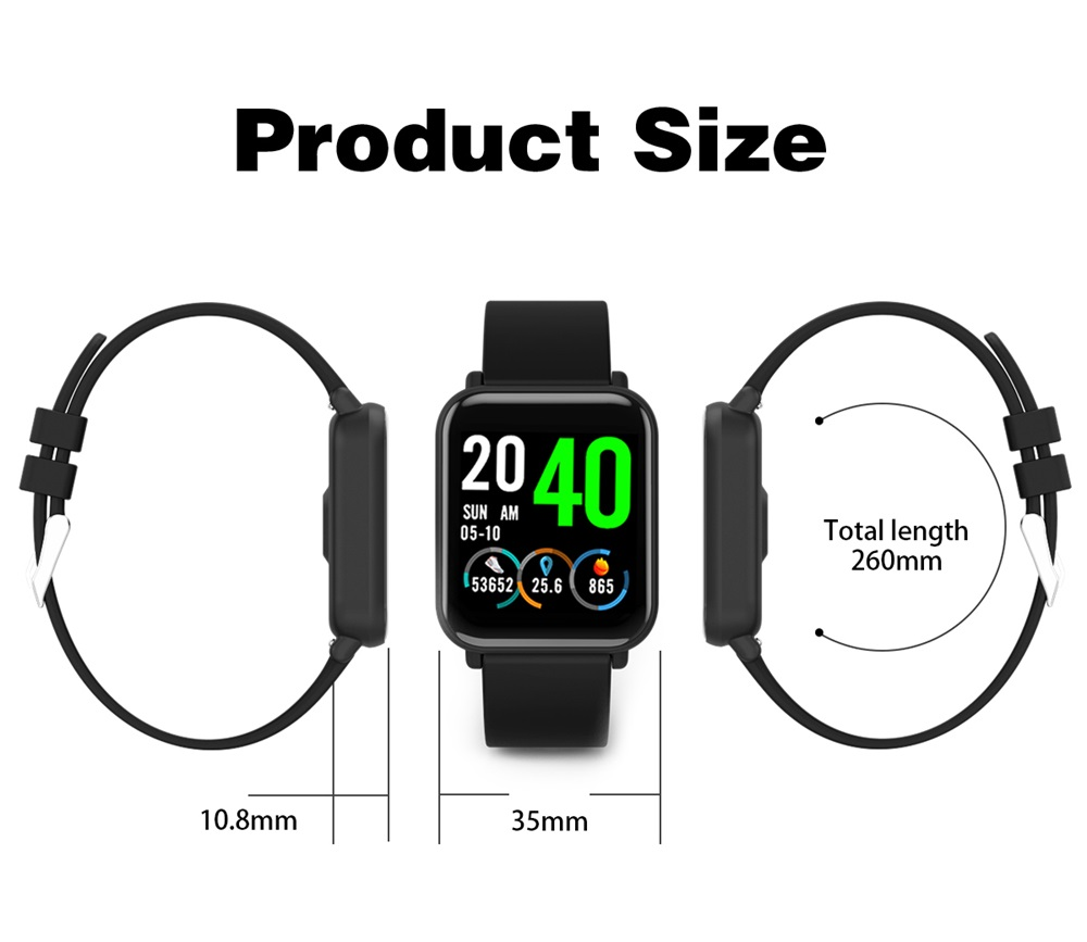 buy r6 tft full screen smartwatch