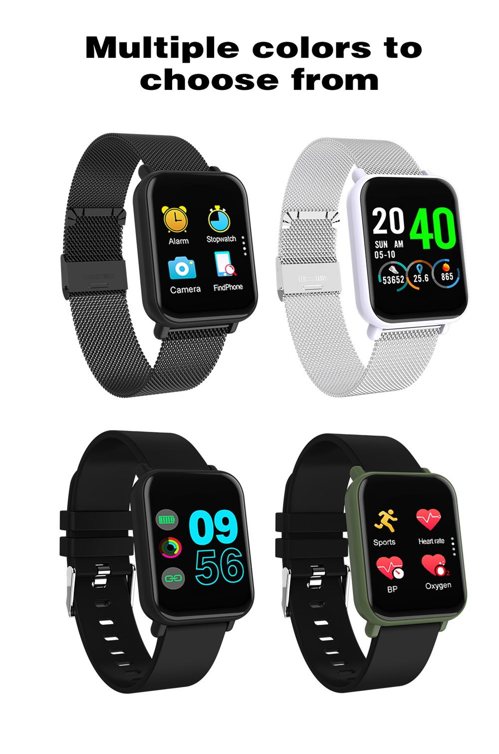 r6 tft full screen smartwatch for sale