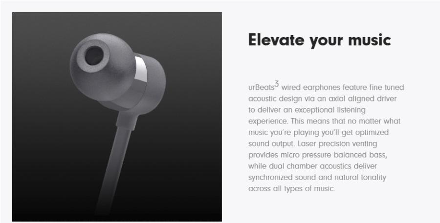 buy refurbished beats urbeats 3 wired earphones