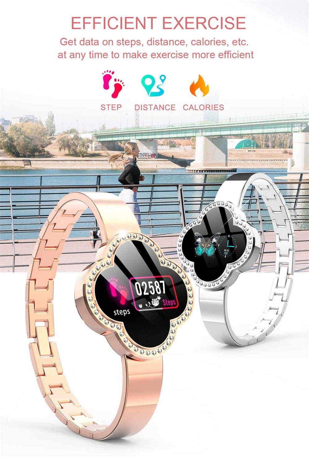 s6 women smartwatch for sale