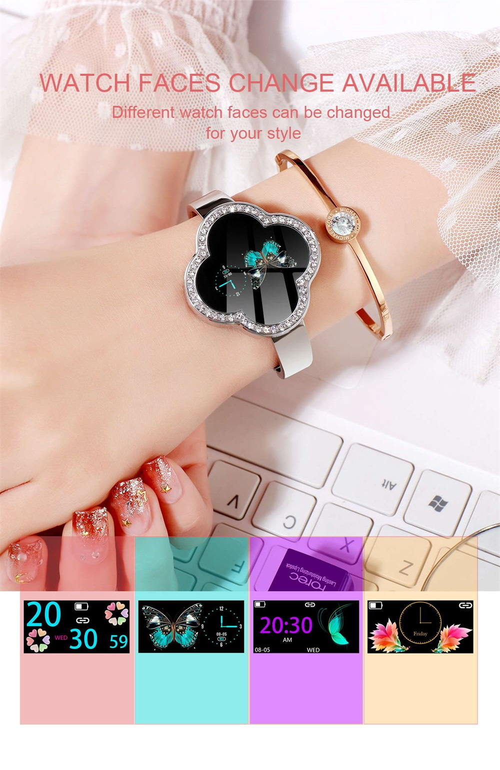 s6 women smartwatch