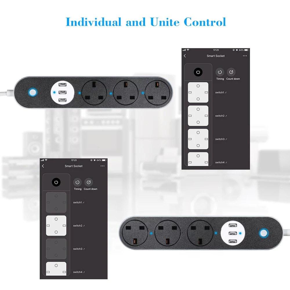 buy sa-p302b power strip socket