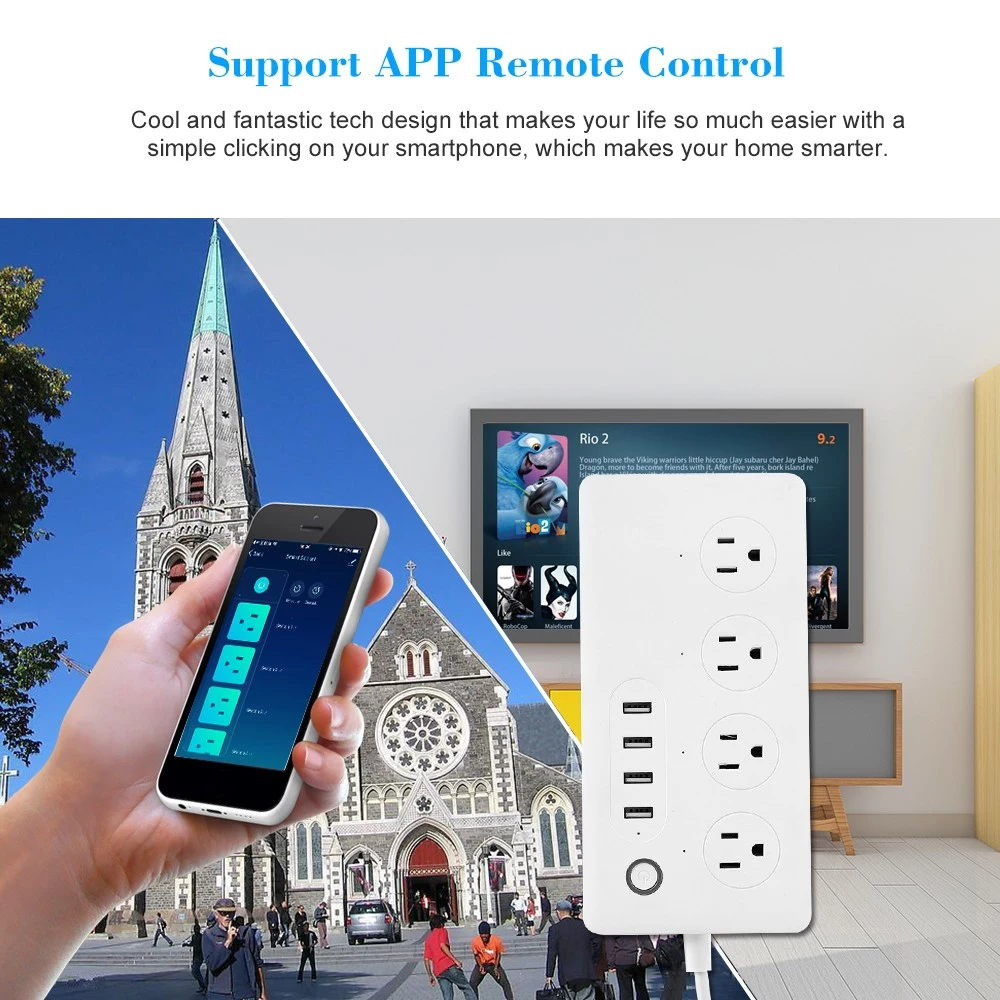 sa-p602 smart power strip socket for sale