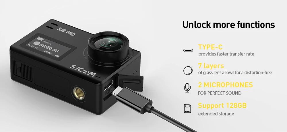 2019 sjcam sj8 pro action camera full set