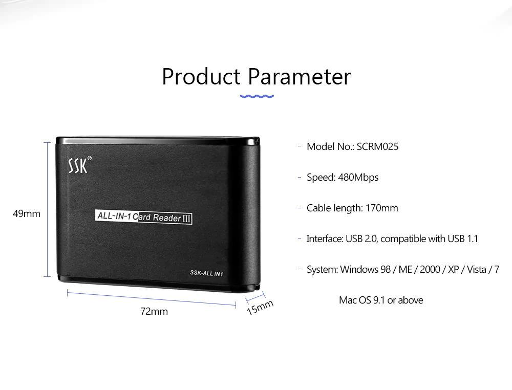 buy ssk scrm025 card reader
