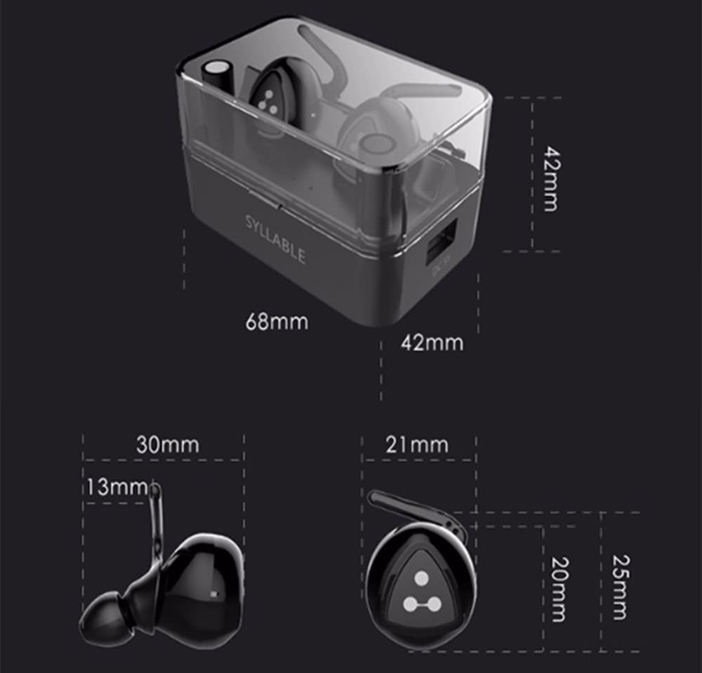 buy syllable d900 mini bluetooth headset