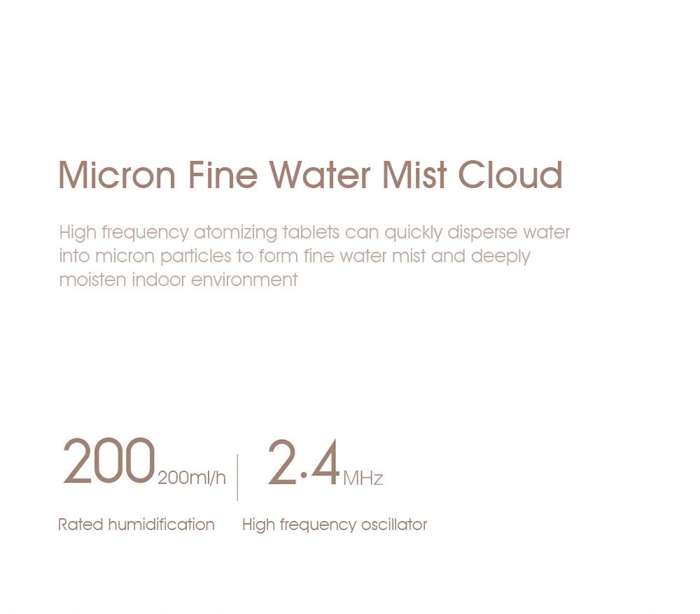 2019 xiaomi smartmi 2.25l ultrasonic humidifier