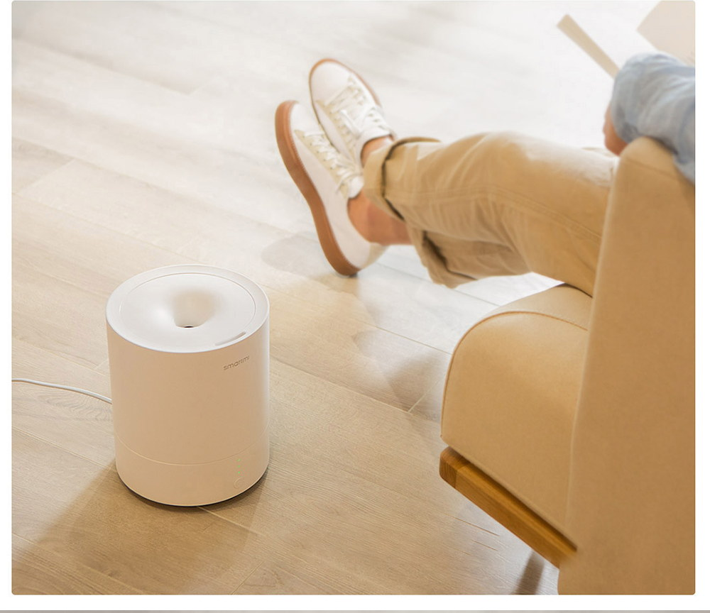 new xiaomi smartmi 2.25l ultrasonic humidifier