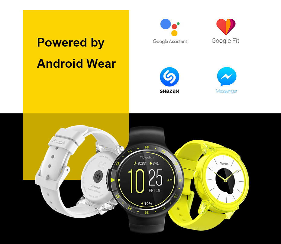 buy ticwatch s bluetooth smartwatch