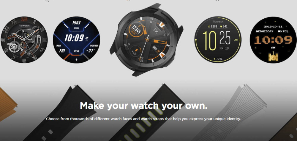 new ticwatch s2 gps smartwatch