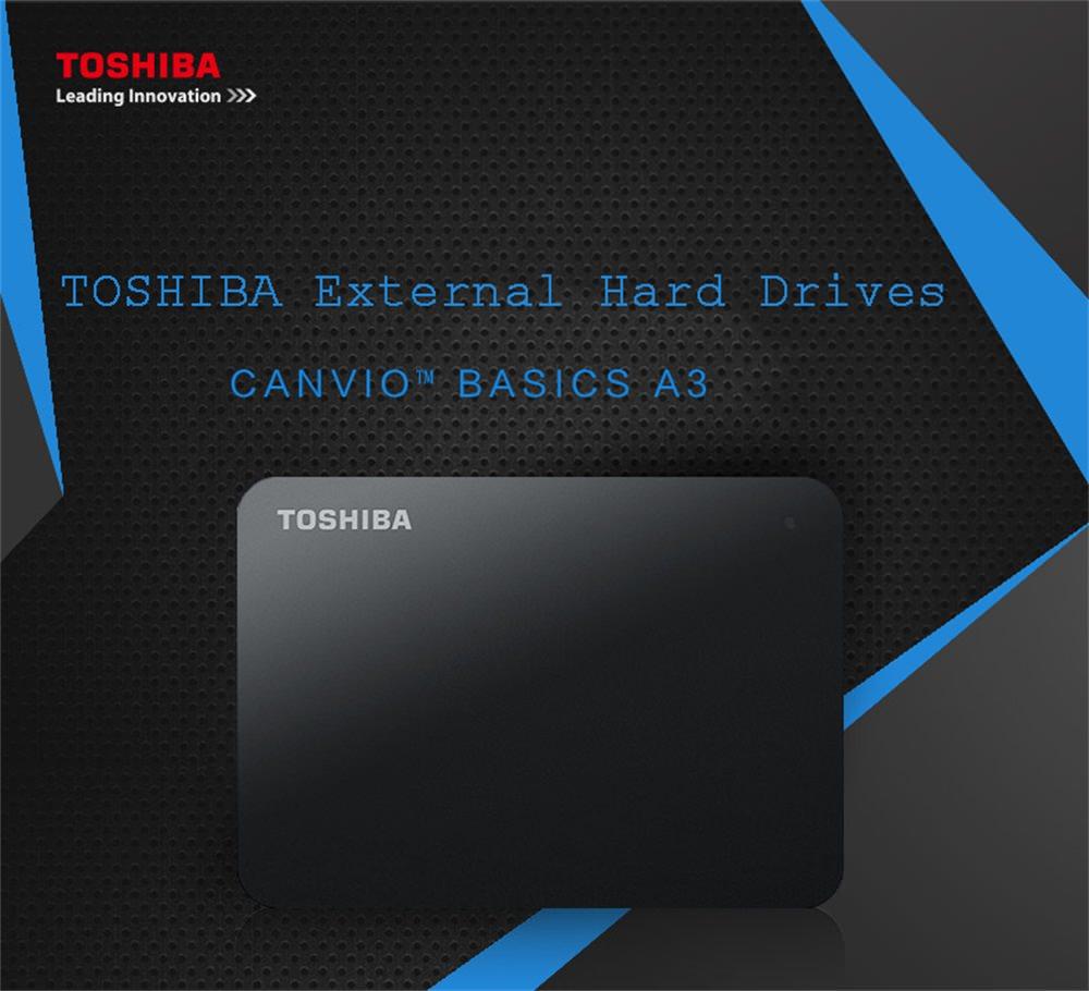 toshiba a3 external hard drive