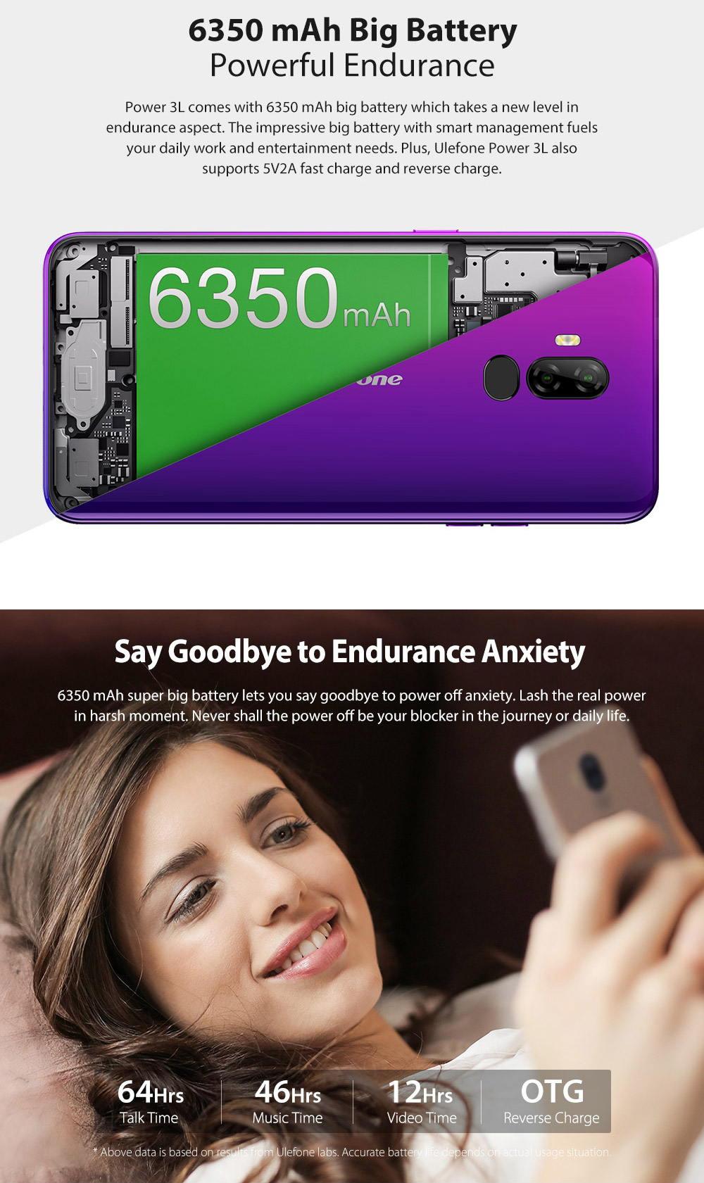 buy ulefone power 3l 4g smartphone