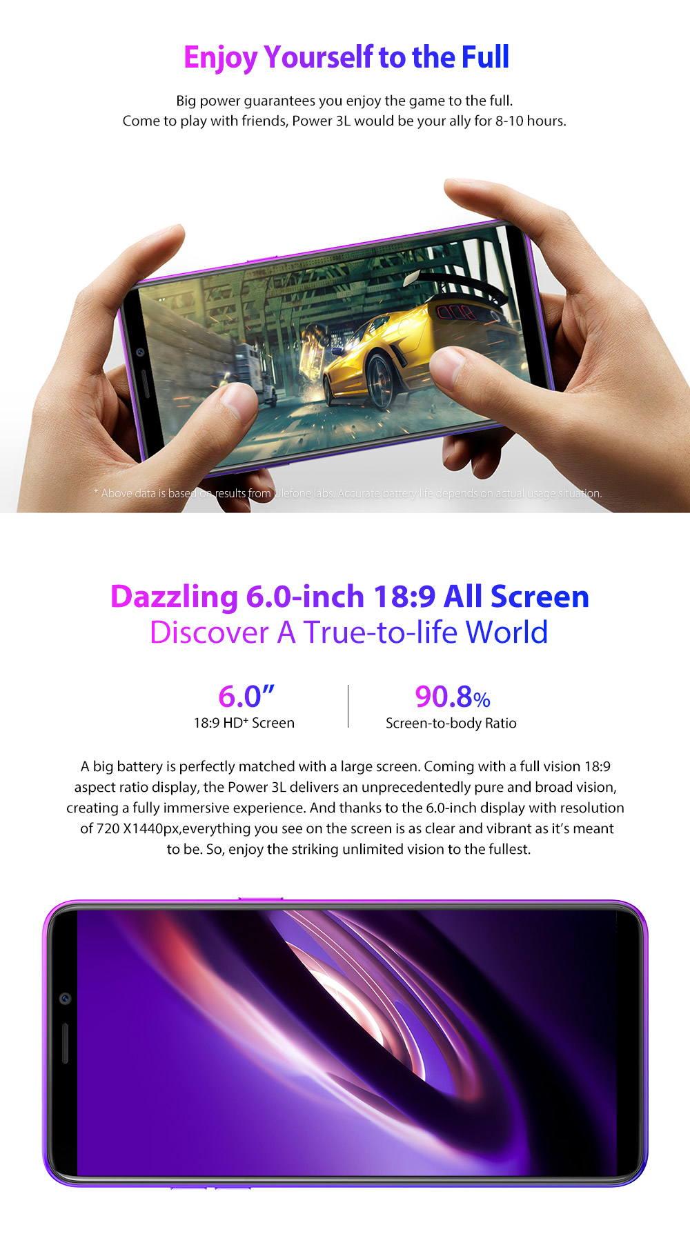ulefone power 3l 4g smartphone price