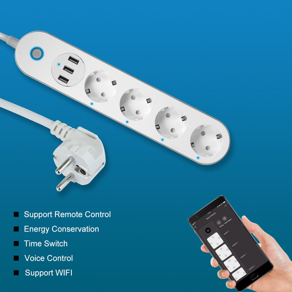 cheap sa-p402a smart power strip socket