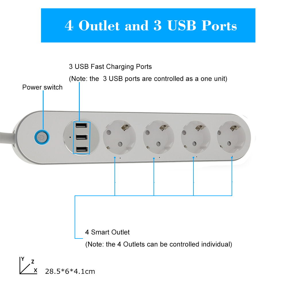 sa-p402a power strip for slae