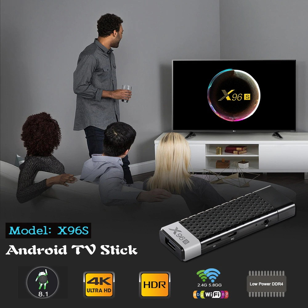 x96s smart android tv stick