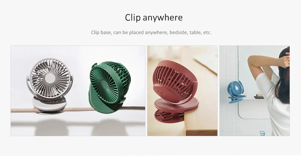 xiaomi solove f3 clip-on fan for sale