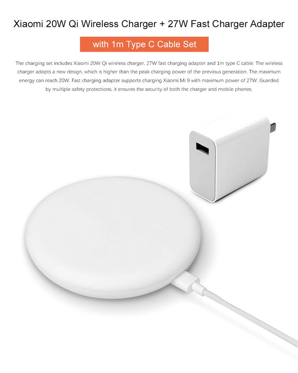 xiaomi high speed charge set
