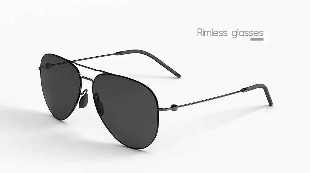new xiaomi ts anti-uv nylon lens sunglasses