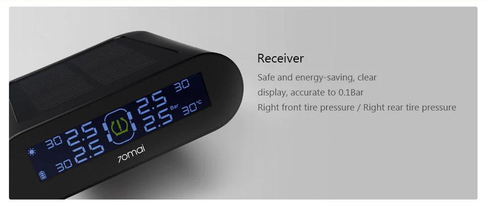 cheap xiaomi 70mai tire pressure monitor system