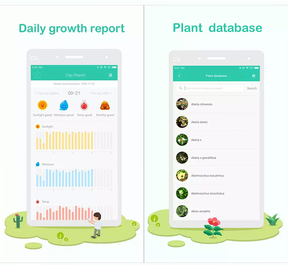 xiaomi flora plant soil monitor for sale