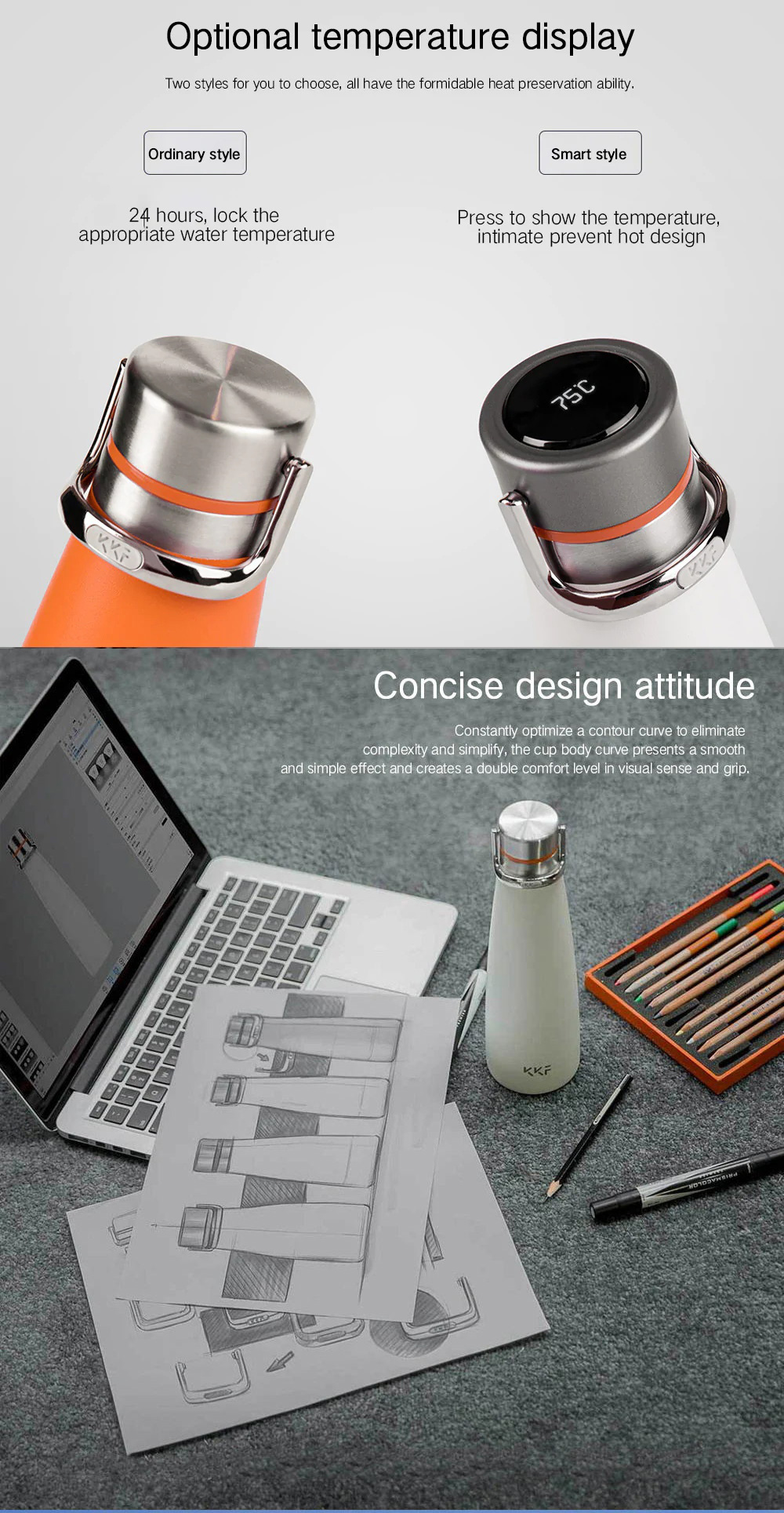 creative kkf insulation cup