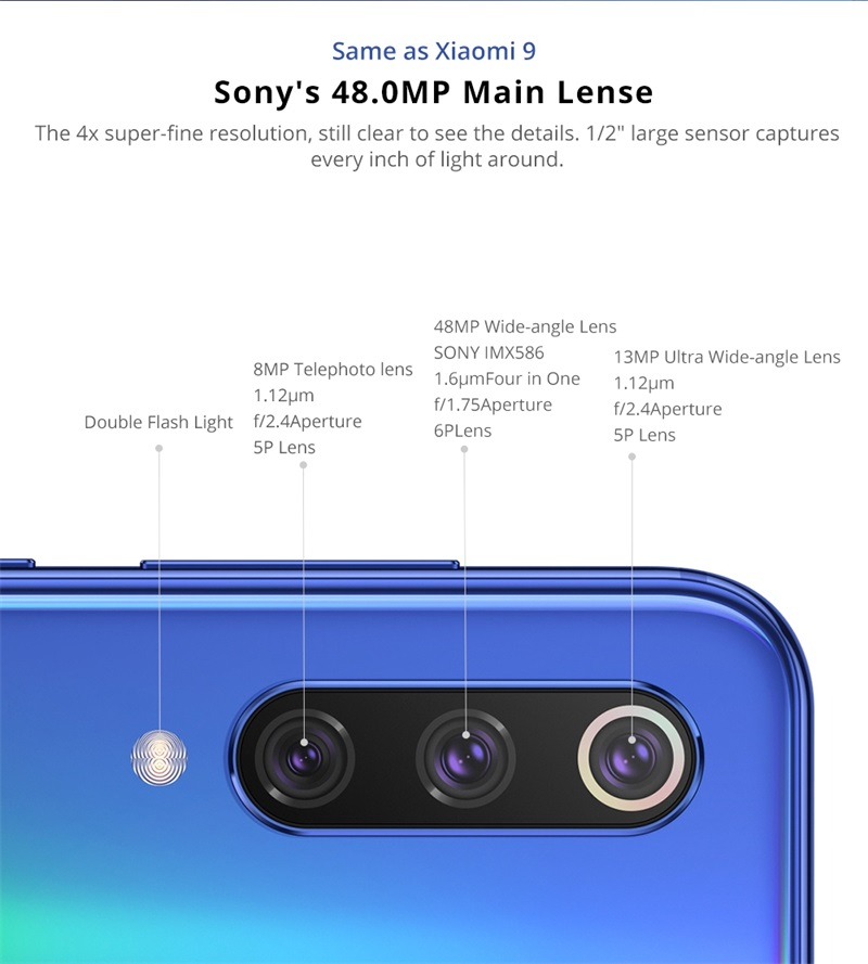 xiaomi mi 9 se smartphone 6gb/64gb