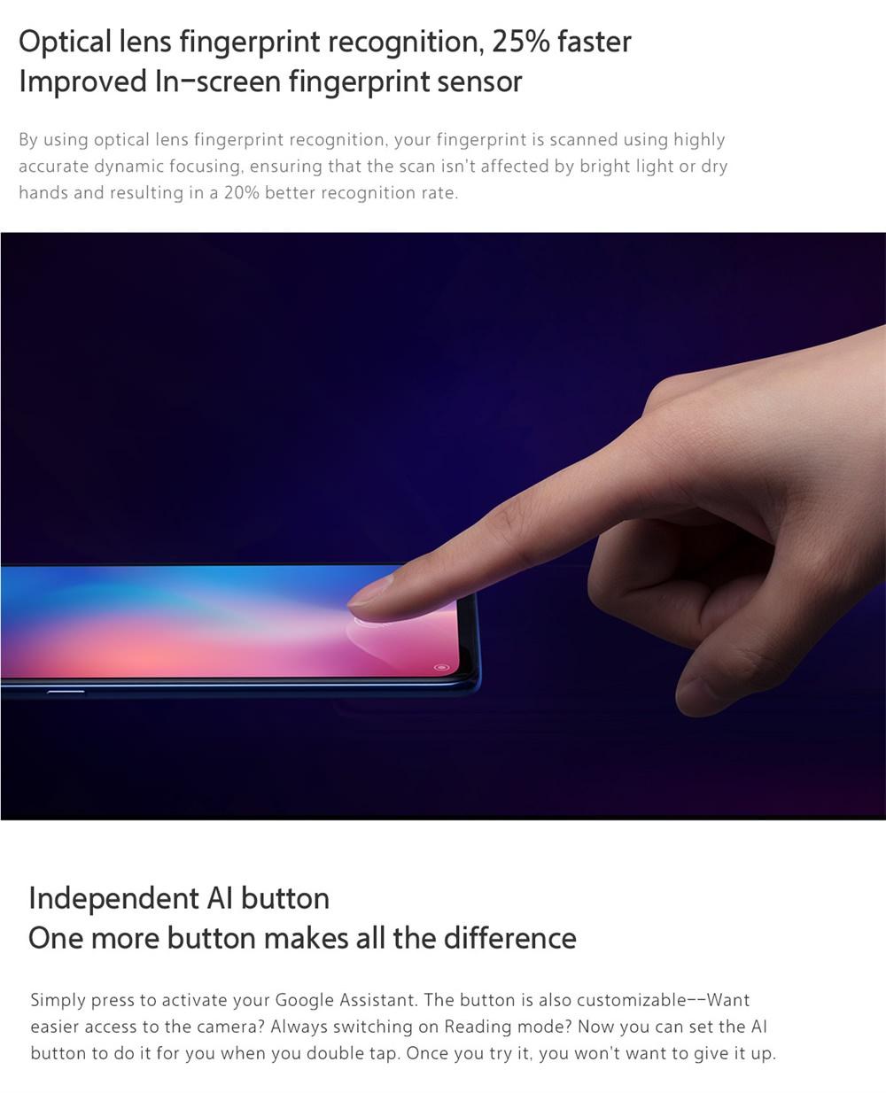 xiaomi mi 9 smartphone 8gb for sale