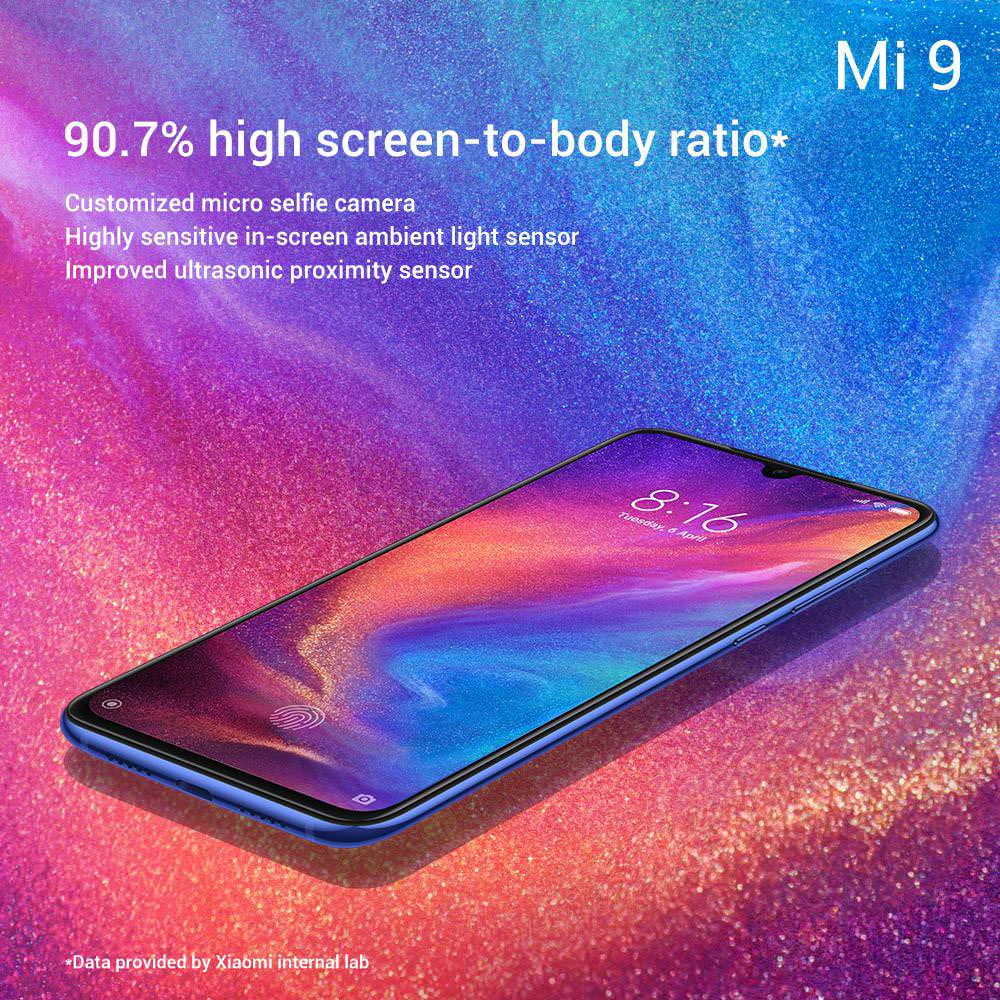 buy xiaomi mi 9 transparent edition
