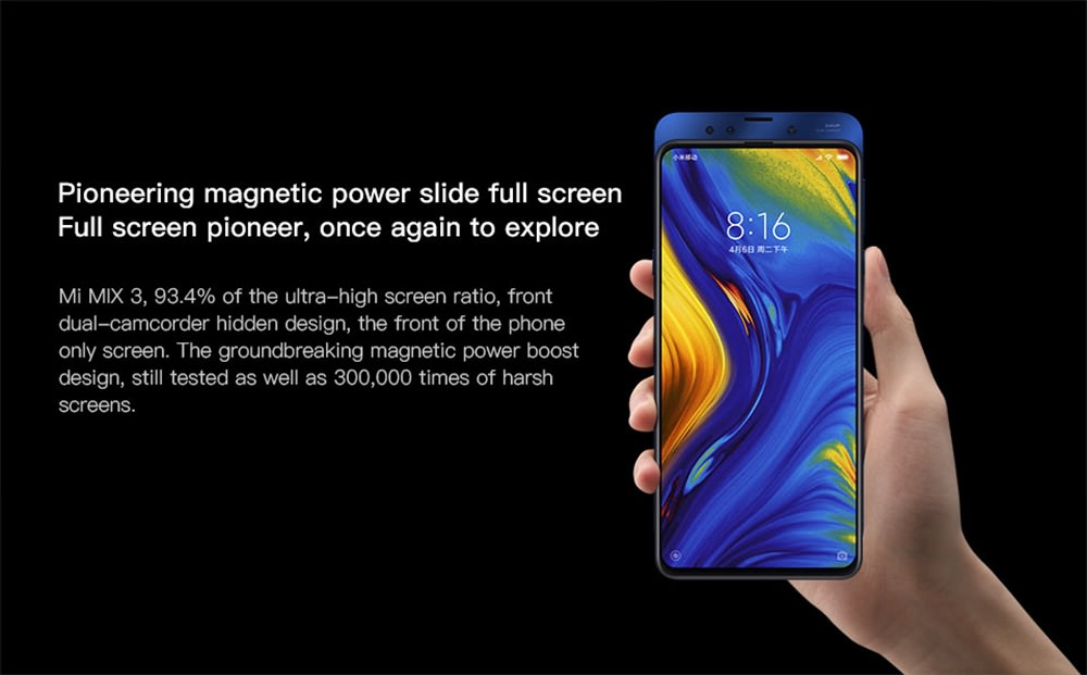buy xiaomi mi mix 3 smartphone