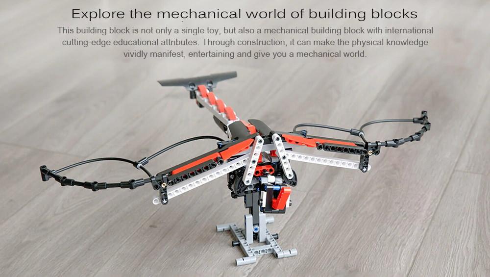 buy xiaomi mitu kids diy assembled power machinery building blocks set