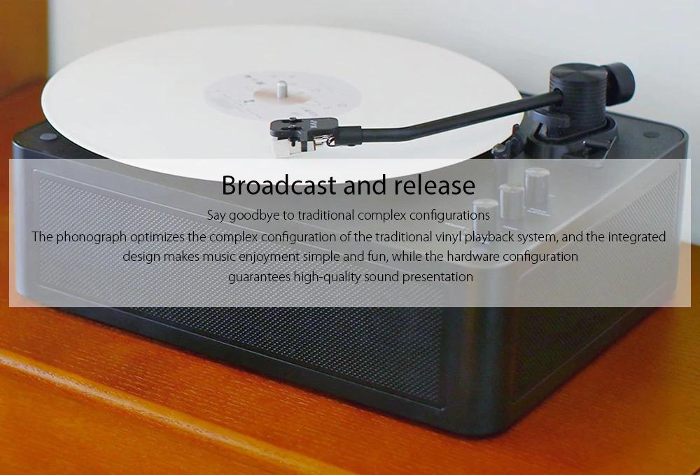 2019 xiaomi multifunctional bluetooth vinyl player