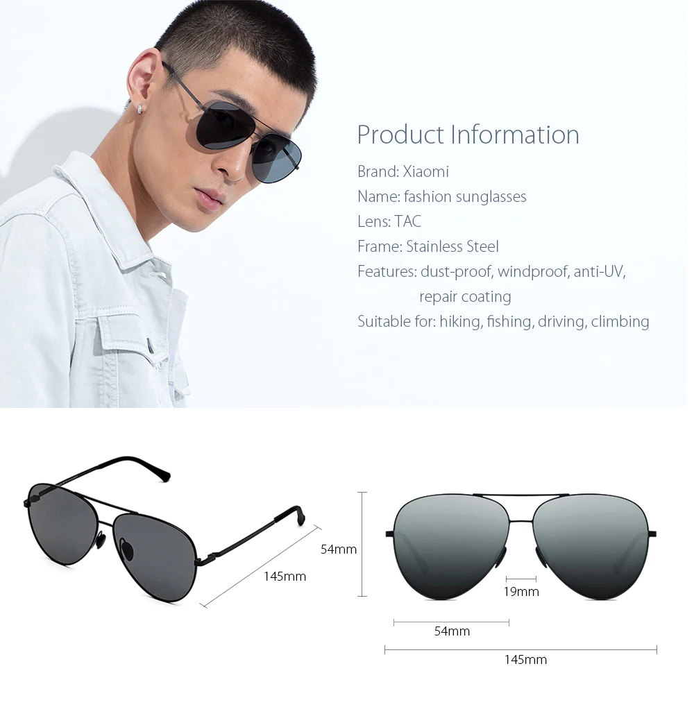 buy xiaomi ts polarized sunglasses