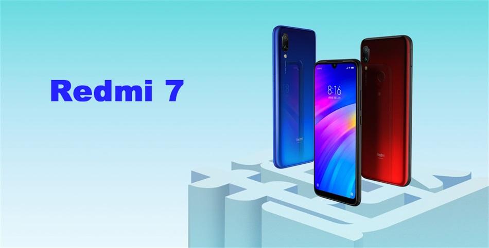 xiaomi redmi 7 4g smartphone 2gb/16gb