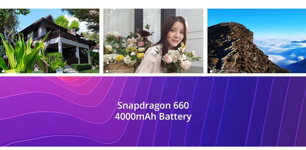 xiaomi redmi note 7 smartphone 4gb/128gb