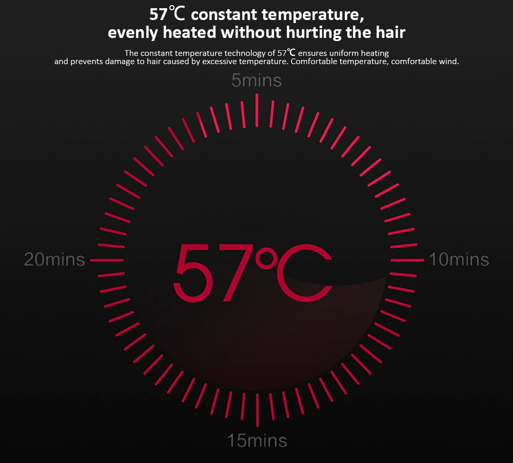 xiaomi soocas h3s anion hair dryer for sale