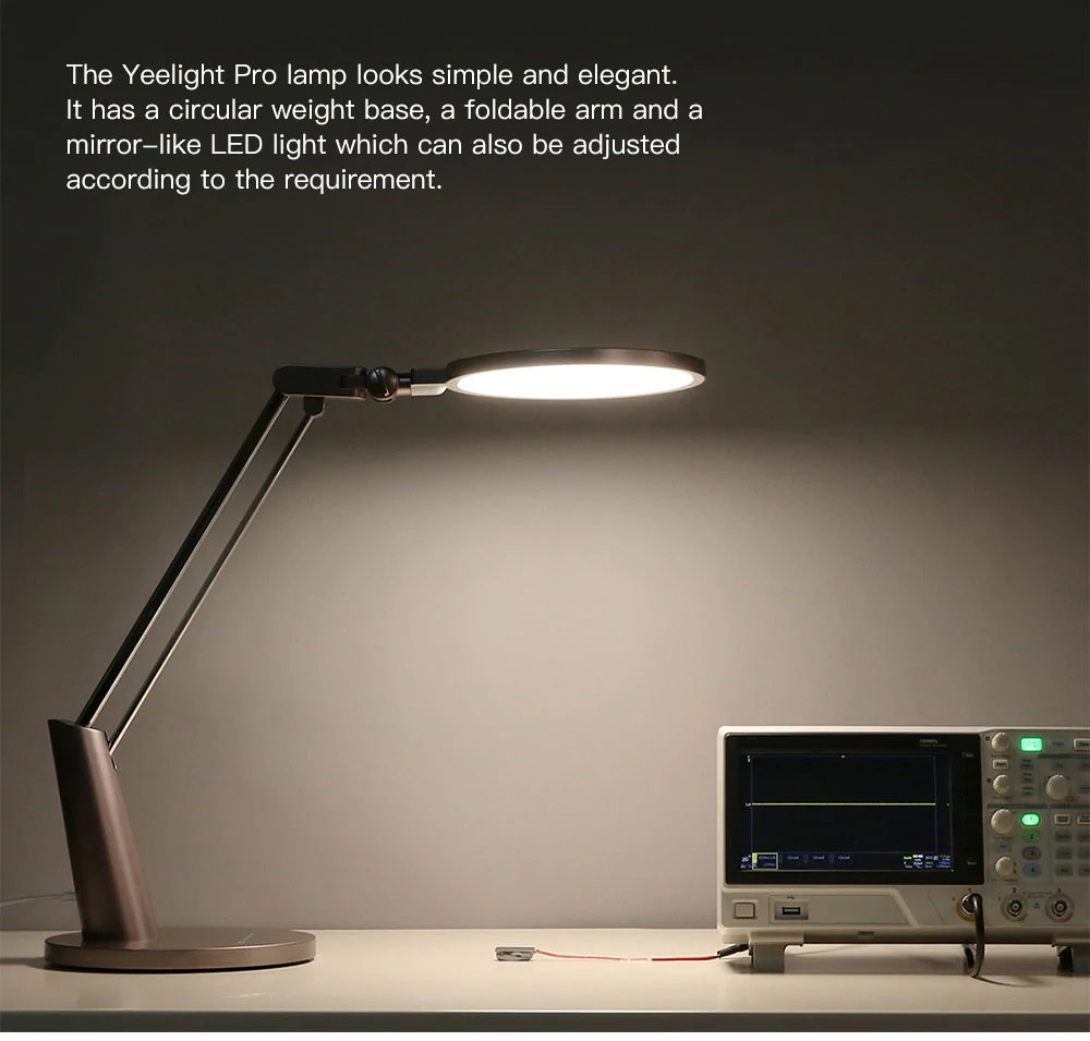 new xiaomi yeelight pro yltd04yl led desk lamp