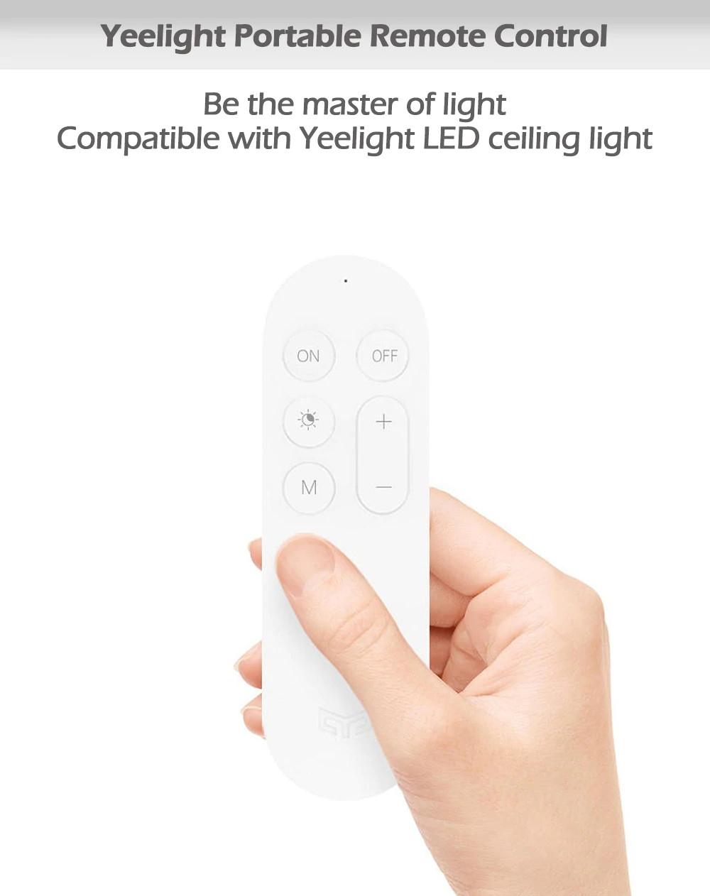 xiaomi yeelight remote control