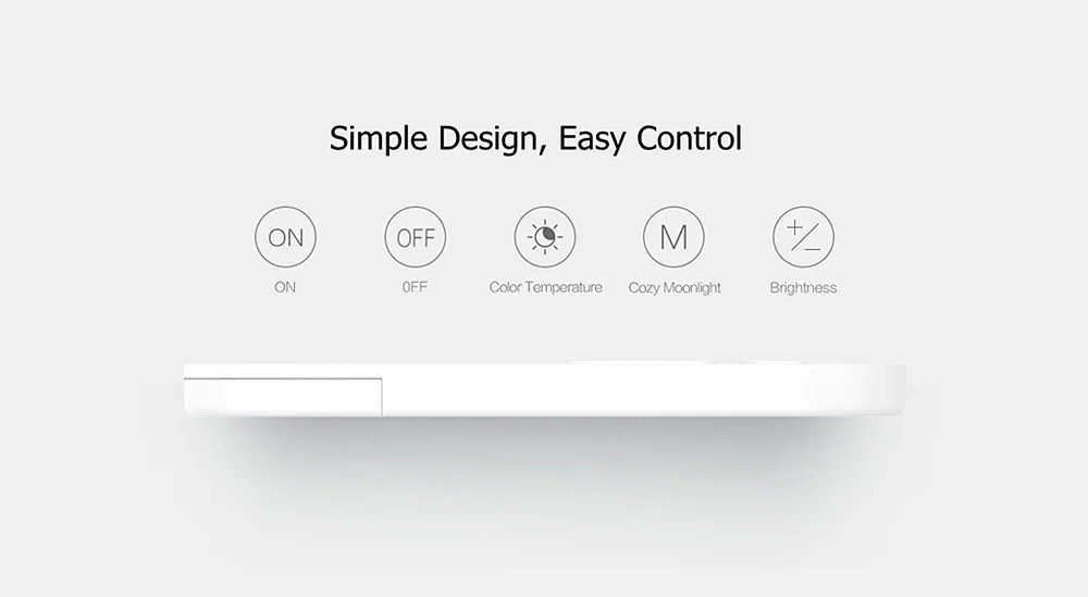 new xiaomi yeelight remote control