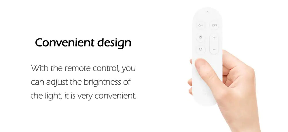 xiaomi yeelight remote control for ceiling lamp