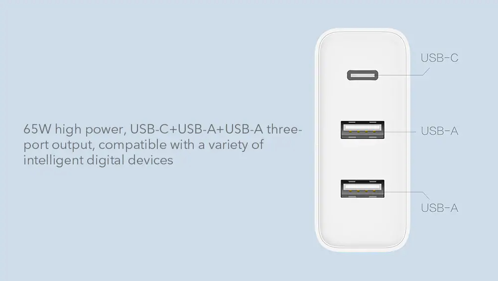 zmi ha832 portable usb charger