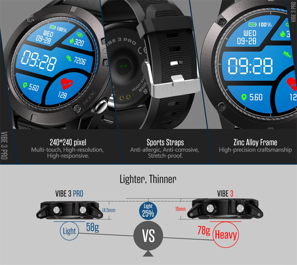 cheap zeblaze vibe 3 pro smartwatch