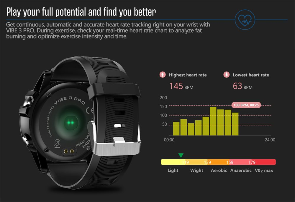 zeblaze vibe 3 pro bluetooth smartwatch price