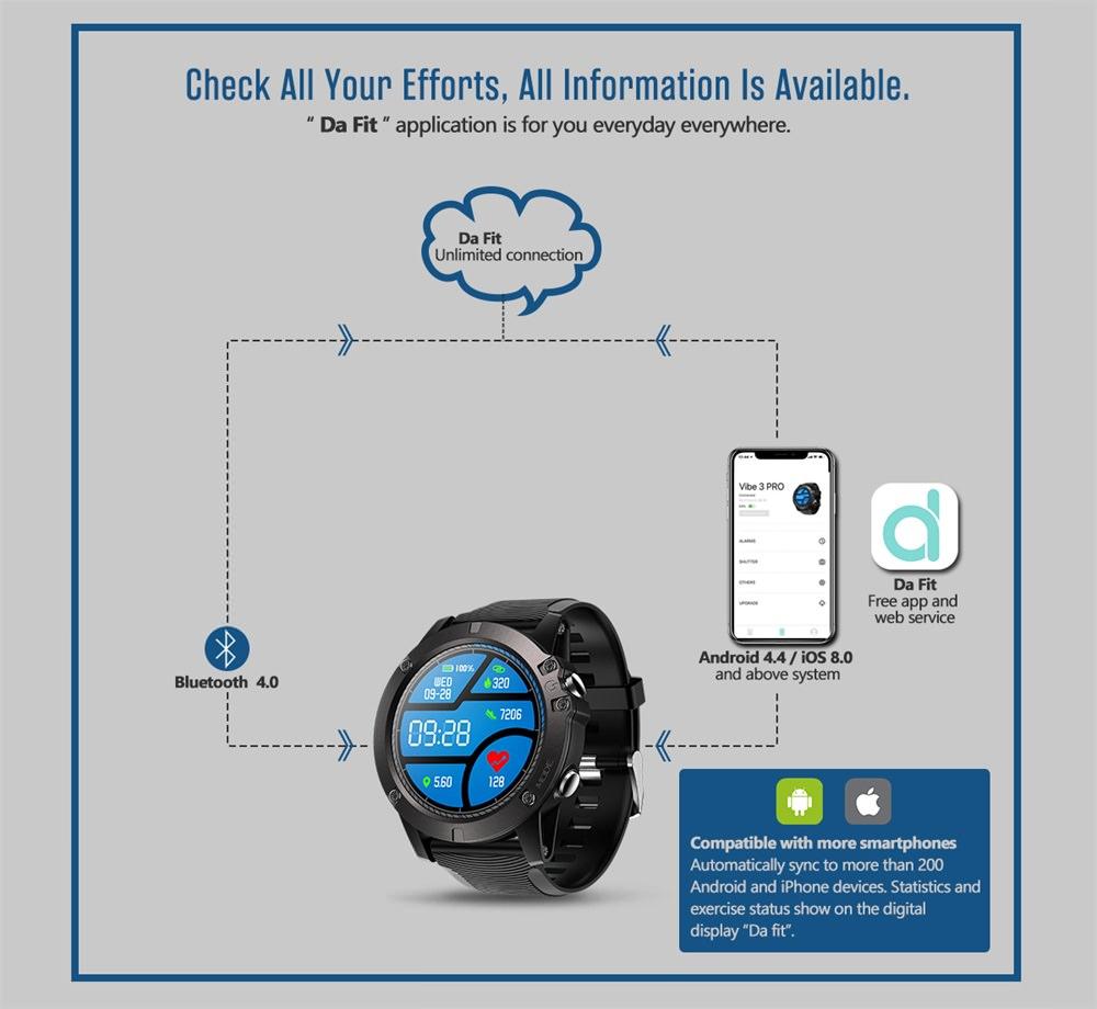 zeblaze vibe 3 pro smartwatch online