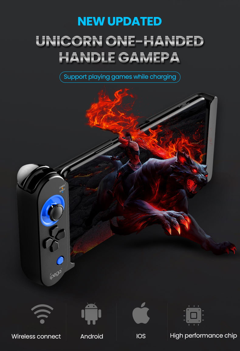 ipega pg-9120 one-hand gamepad