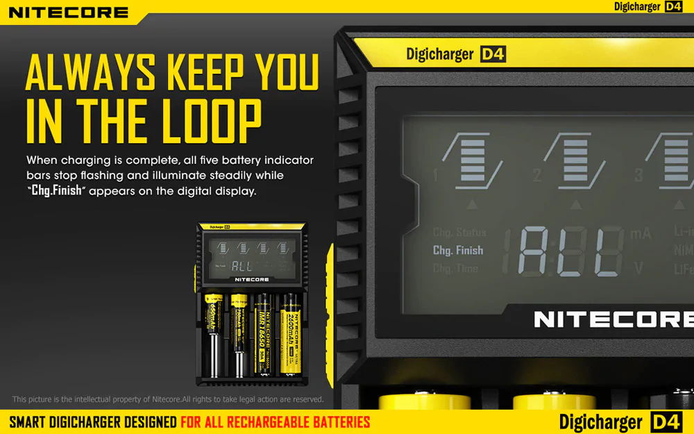 buy nitecore d4 universal battery charger
