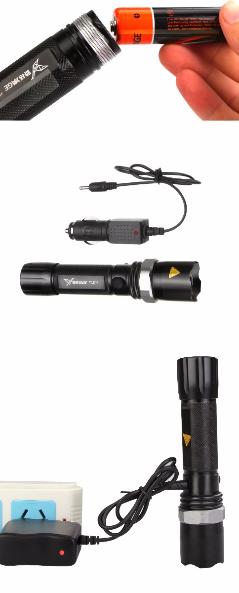 YAGE Battery Lead Linternas Torches Tactical Cree Flashlight